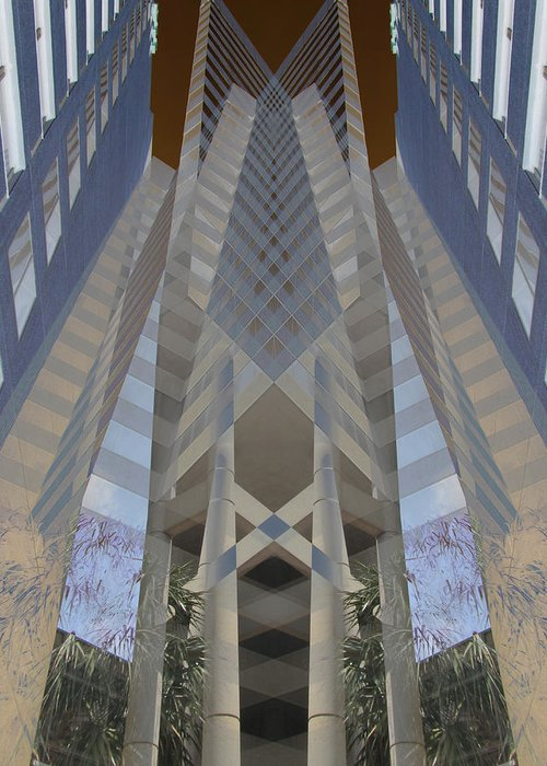 Digital Greeting Card featuring the digital art Building by Michele Caporaso