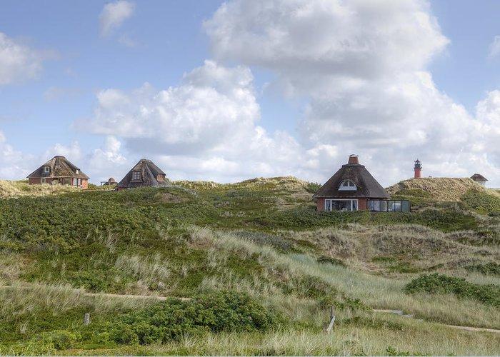Frisian Houses Greeting Card featuring the photograph Sylt by Joana Kruse