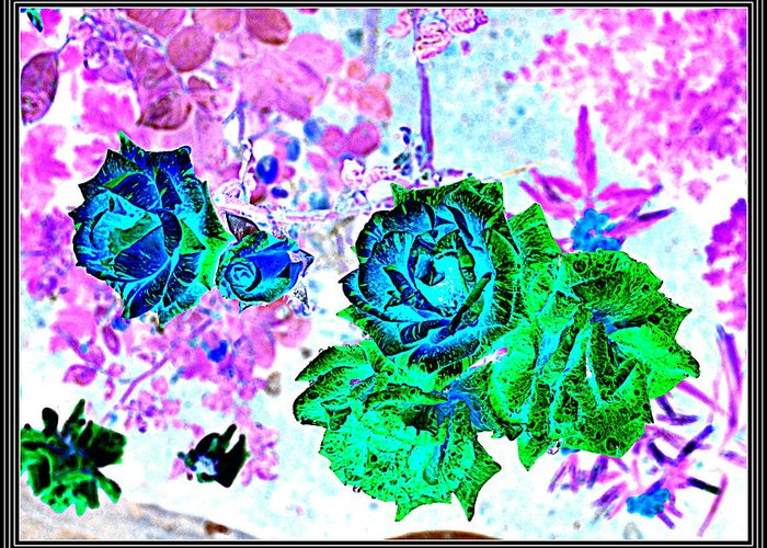 Leaves---leaves Greeting Card featuring the photograph Flowers Flowers And Flowers by Anand Swaroop Manchiraju