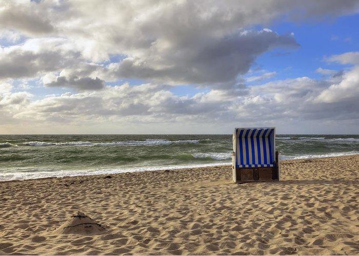 Beach Greeting Card featuring the photograph Sylt by Joana Kruse