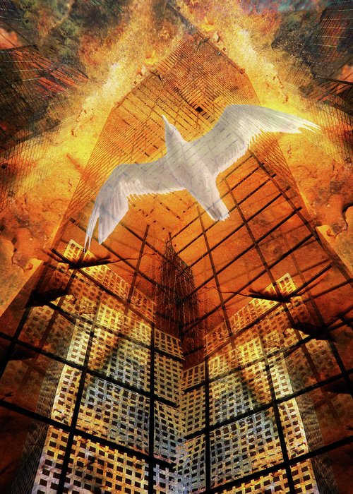 Architecture Greeting Card featuring the photograph 1792 by Peter Holme III