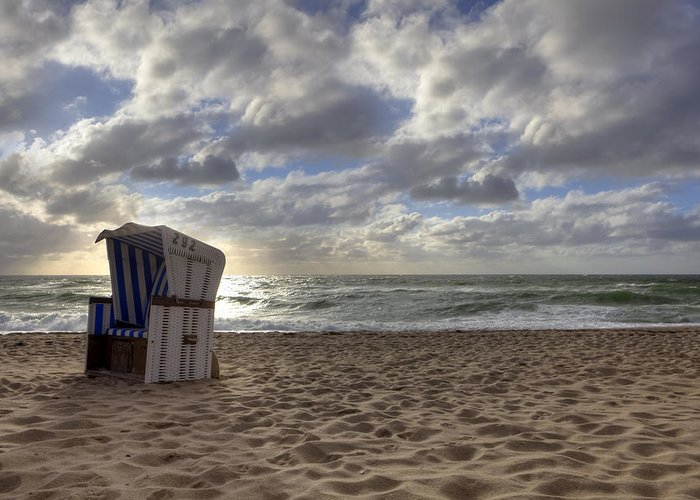 Beach Greeting Card featuring the photograph Sylt by Joana Kruse