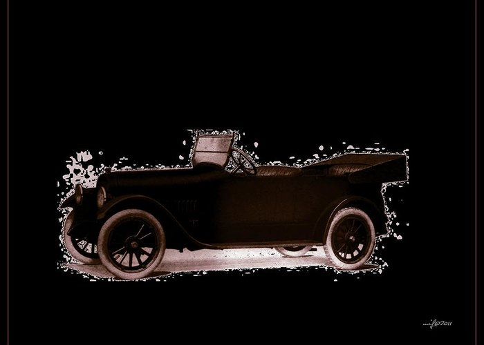 Studebaker Greeting Card featuring the photograph 1919 Studebaker Eh by Maciek Froncisz
