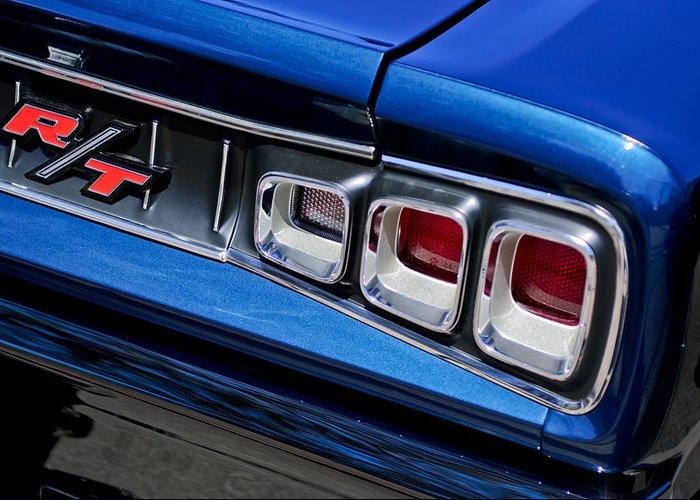 82422100 1968 Dodge Coronet Rt Hemi Convertible Greeting Card featuring the  photograph 1968 Dodge Coronet Rt Hemi