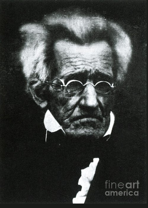History Greeting Card featuring the photograph Andrew Jackson, 7th American President by Photo Researchers