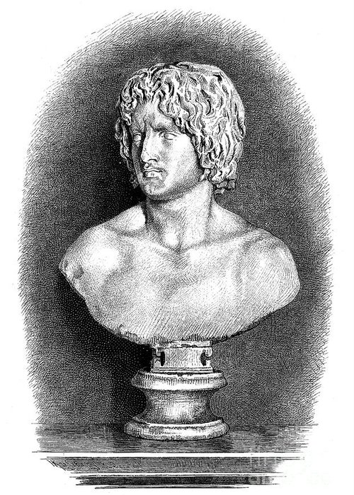 1st Century Greeting Card featuring the photograph Arminius (c17 B.c.-21 A.d.) by Granger