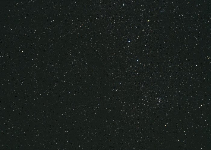 Cassiopeia Greeting Card featuring the photograph Cassiopeia Constellation by John Sanford