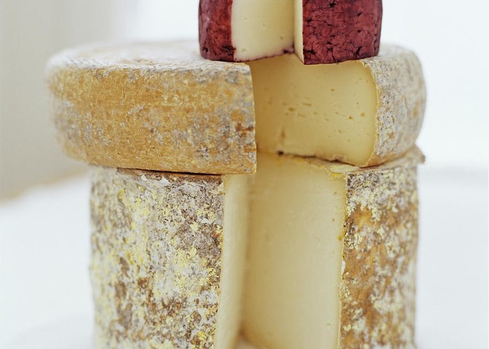 Cheese Greeting Card featuring the photograph Cheese Selection by David Munns