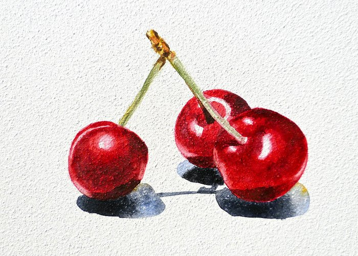 Berry Fruit Greeting Cards