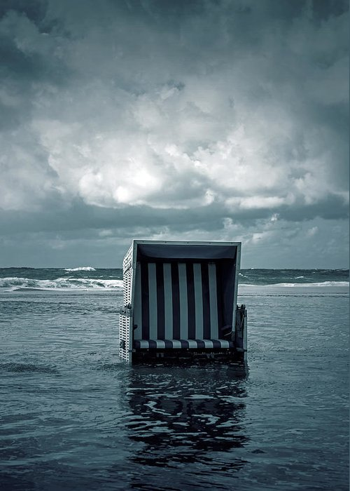 Beach Greeting Card featuring the photograph Flood by Joana Kruse