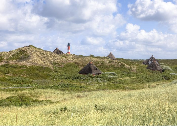 Frisian Houses Greeting Card featuring the photograph Hoernum - Sylt by Joana Kruse