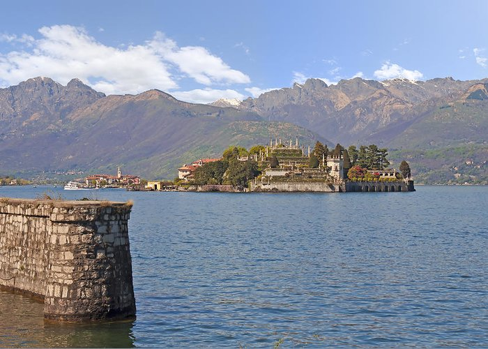 Arches Greeting Card featuring the photograph Isola Bella by Joana Kruse
