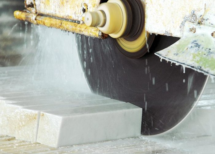 Marble Greeting Card featuring the photograph Marble Quarrying by Ria Novosti