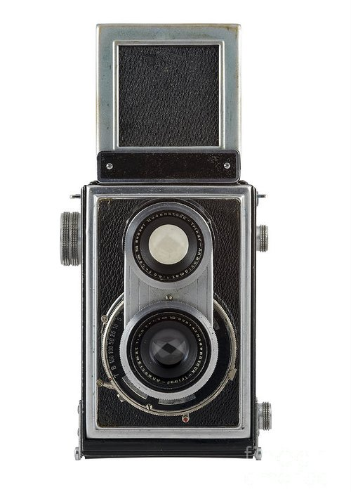 Camera Greeting Card featuring the photograph Old Camera by Michal Boubin