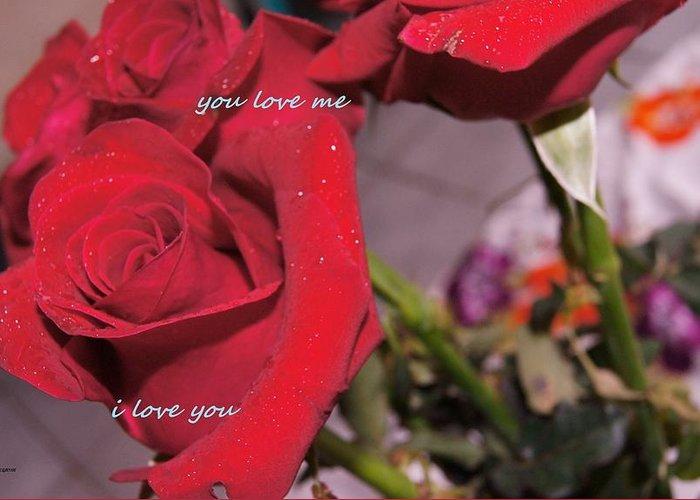 Greeting Card featuring the photograph Rose For You by Gornganogphatchara Kalapun