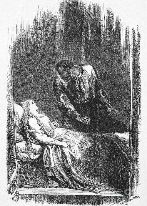 1603 Greeting Card featuring the photograph Shakespeare: Othello by Granger