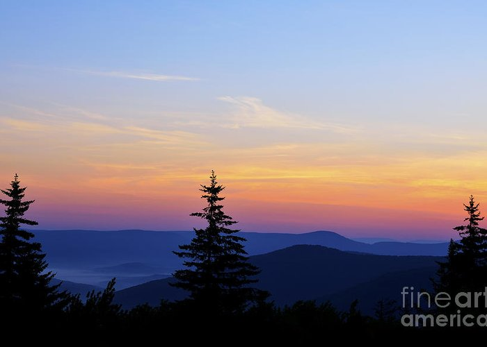 Highland Scenic Highway Greeting Cards