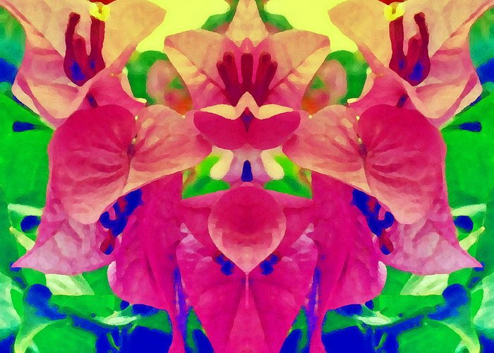 Flower Greeting Card featuring the photograph Surrender by Beto Machado