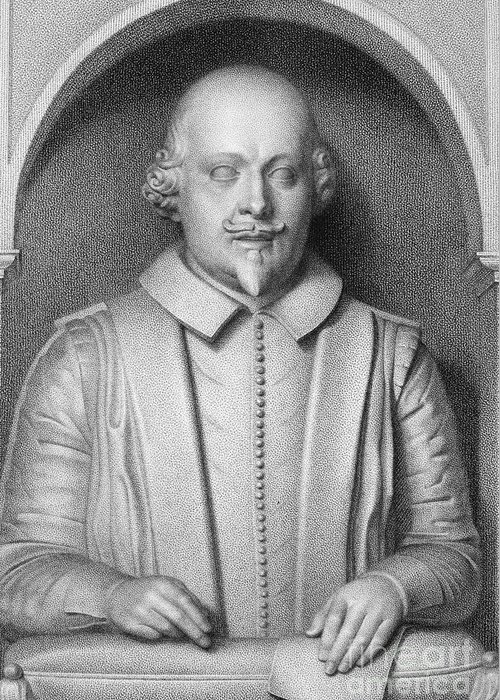 16th Century Greeting Card featuring the photograph William Shakespeare by Granger