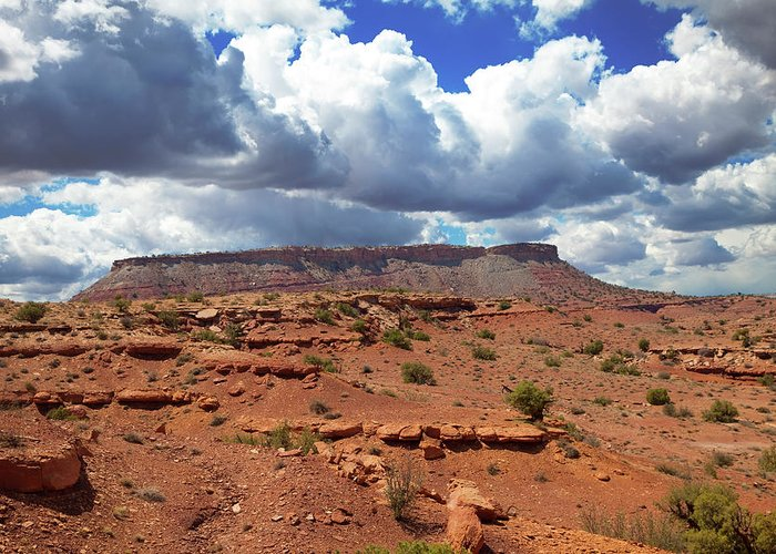 Southern Utah Greeting Card featuring the photograph San Rafael Swell by Southern Utah Photography