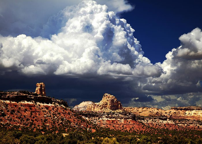 Southern Utah Greeting Card featuring the photograph San Rafael Swell by Mark Smith