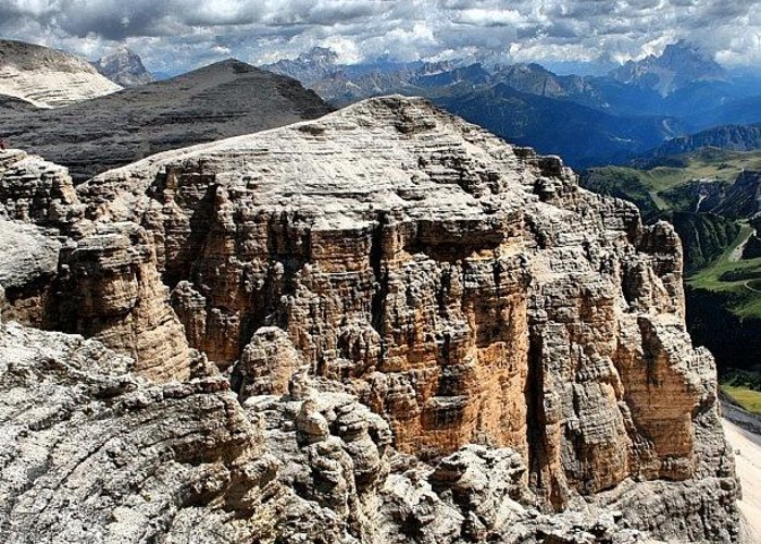 Beautiful Greeting Card featuring the photograph Dolomites by Luisa Azzolini