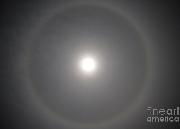 22° Halo Greeting Card featuring the photograph 22 Halo by Nicholas Caputo