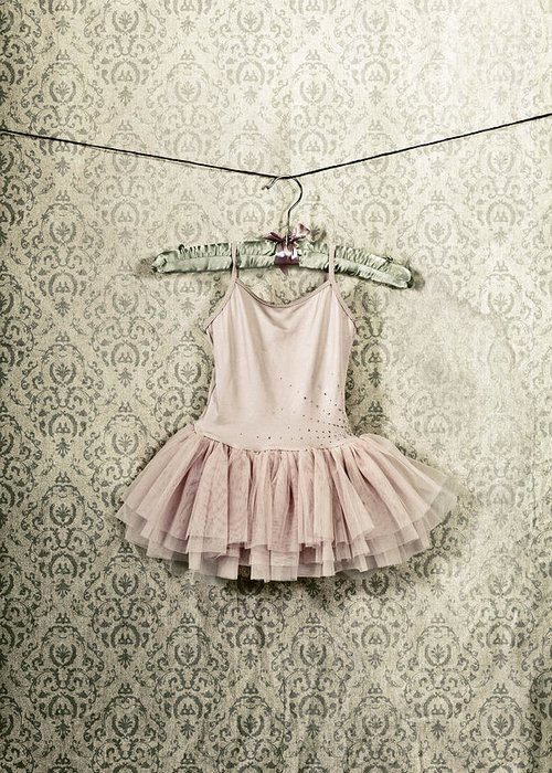 Tulle Greeting Card featuring the photograph Ballet Dress by Joana Kruse