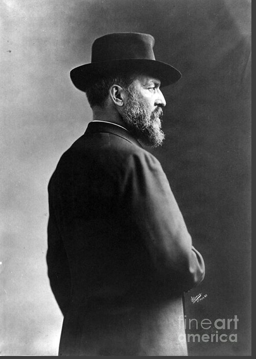 Government Greeting Card featuring the photograph James A. Garfield, 20th American by Photo Researchers
