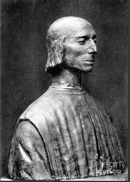 15th Century Greeting Card featuring the photograph Niccolo Machiavelli by Granger