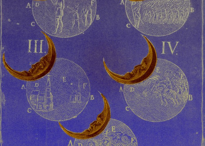 Astrology Greeting Card featuring the photograph Phases Of An Eclipse by Science Source