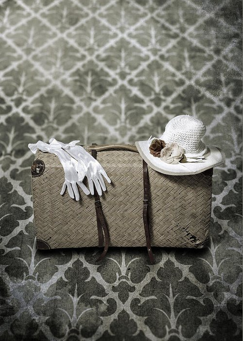 Case Greeting Card featuring the photograph Suitcase by Joana Kruse