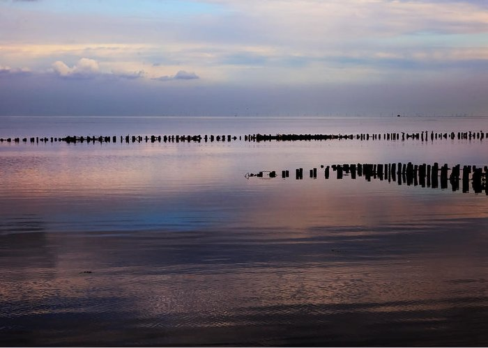 Wadden Sea Greeting Card featuring the photograph Sylt by Joana Kruse
