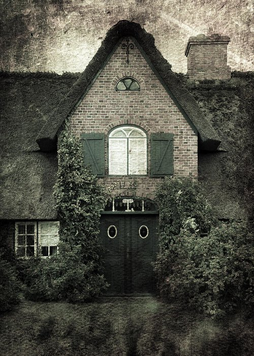House Greeting Card featuring the photograph Thatch by Joana Kruse