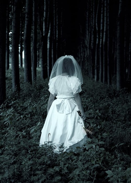 Bride Greeting Card featuring the photograph The Bride by Joana Kruse