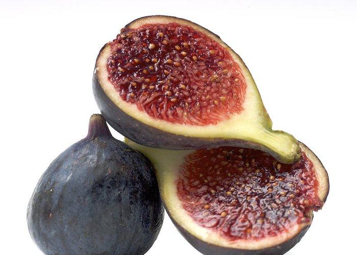 Vitamins Greeting Card featuring the photograph Figs by Bernard Jaubert
