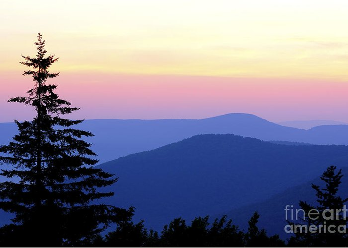 Summer Solstice Greeting Card featuring the photograph Summer Solstice Sunrise by Thomas R Fletcher