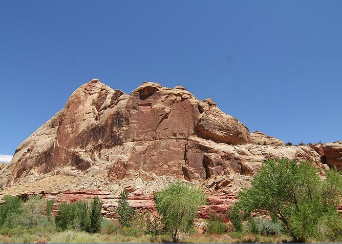 Greeting Card featuring the photograph Capitol Reef National Park by Southern Utah Photography