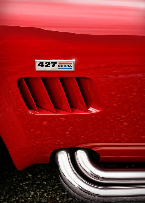 Ac Greeting Card featuring the photograph 427 Ford Cobra by Gordon Dean II
