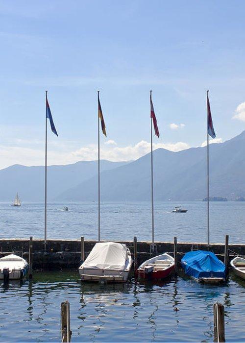 Alps Greeting Card featuring the photograph Ascona - Ticino by Joana Kruse