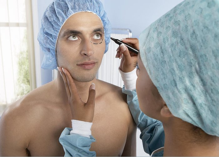 Mark Greeting Card featuring the photograph Cosmetic Surgery by Adam Gault