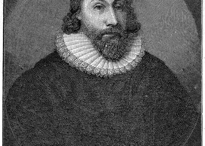 16th Century Greeting Card featuring the photograph John Winthrop (1588-1649) by Granger