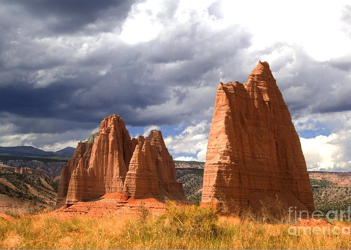 Capitol Reef National Park Greeting Card featuring the photograph Capitol Reef National Park by Southern Utah Photography