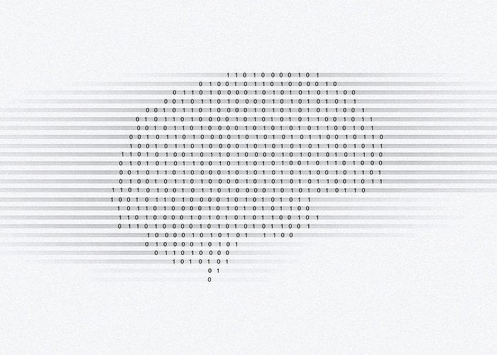 Brain Greeting Card featuring the photograph Brain, Conceptual Computer Artwork by Mehau Kulyk