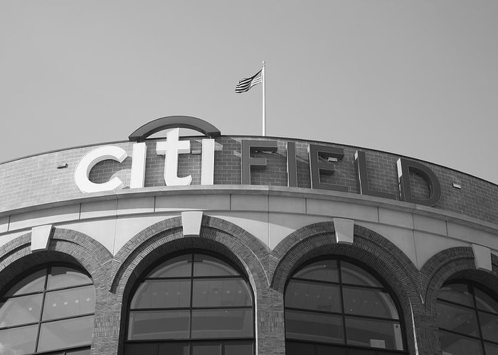 Fine Greeting Card featuring the photograph Citi Field - New York Mets by Frank Romeo