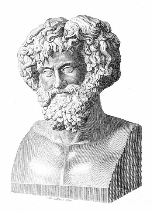 2nd Century B.c Greeting Card featuring the photograph Hannibal (247-183 B.c.) by Granger