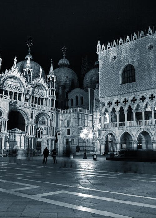 St. Mark Greeting Card featuring the photograph Venice by Joana Kruse