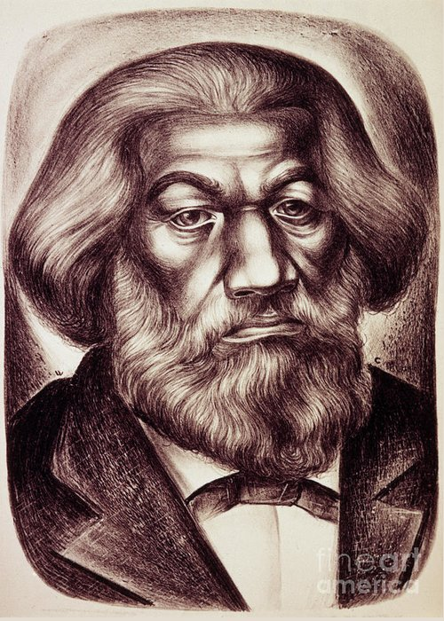 20th Century Greeting Card featuring the photograph Frederick Douglass by Granger