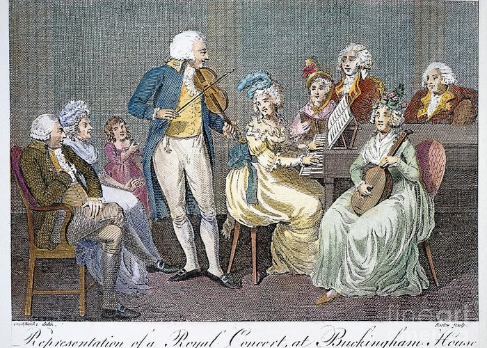 1793 Greeting Card featuring the photograph George IIi (1738-1820) by Granger