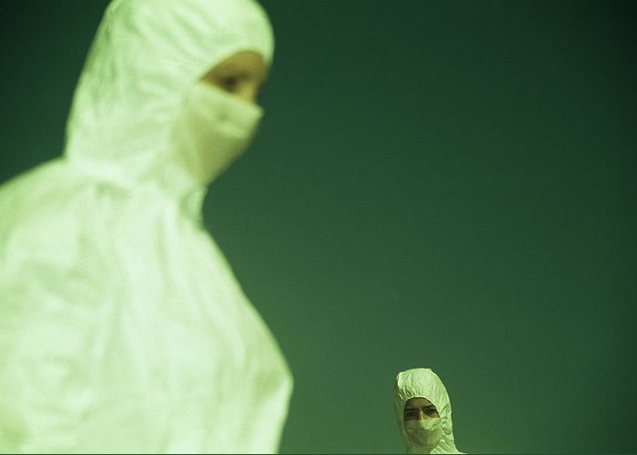 Protective Clothing Greeting Card featuring the photograph Protective Clothing by Cristina Pedrazzini